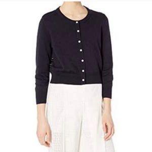 Karl Lagerfeld Paris navy blue cardigan size L